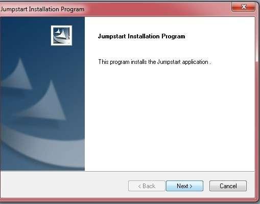 خطوات تثبيت برنامج Jump Start