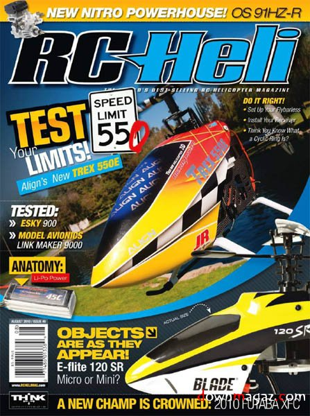 RC Heli Magazine August 2010 Download PDF Magazines