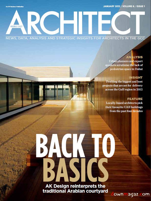 Middle East Architect January 2012 Download PDF