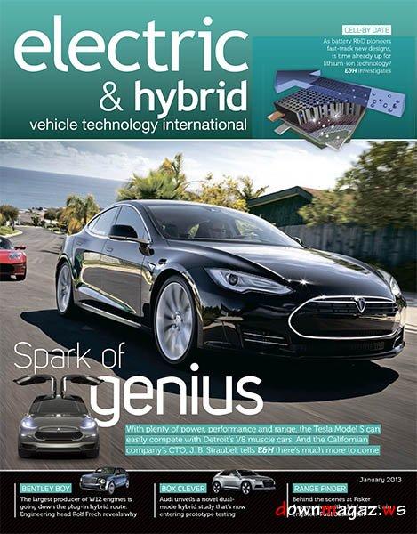 Electric Amp Hybrid Vehicle Technology International January