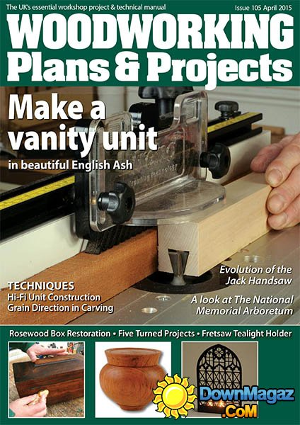 woodworking plansprojects  april 2015