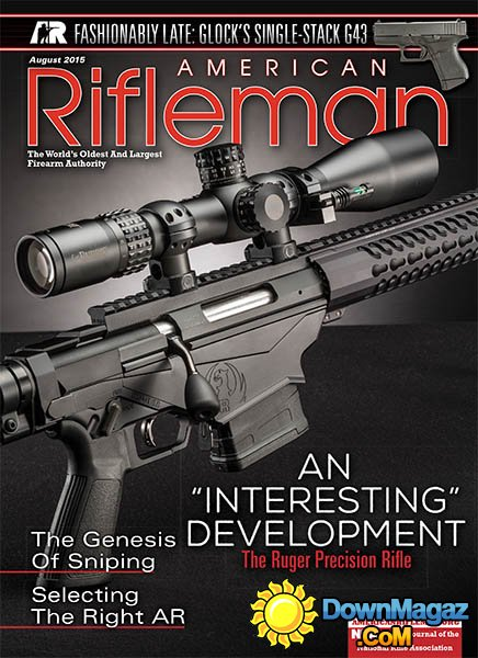 American Rifleman USA August 2015 Download PDF