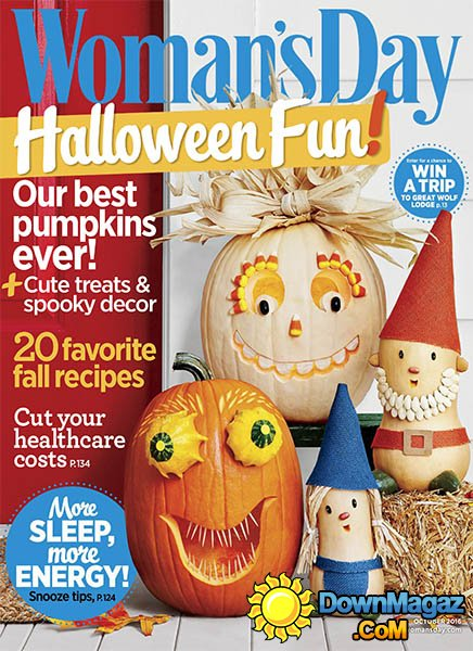 Womans Day USA October 2016 Download PDF Magazines