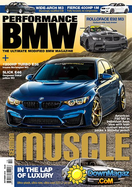 Performance BMW October 2016 Download PDF Magazines