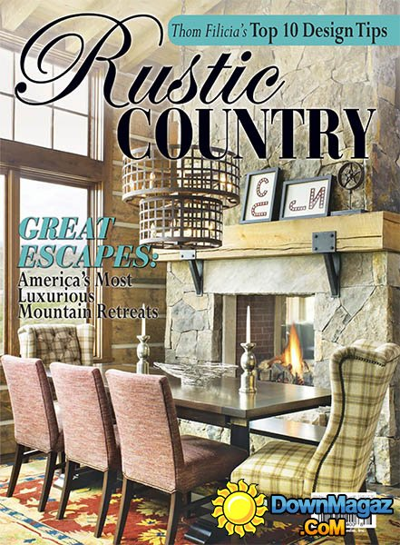 Romantic Homes Rustic Country 2016 Download PDF