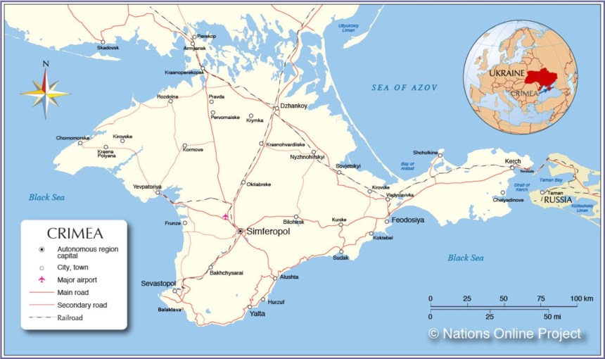 Crimean Map