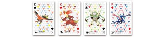 pokemon playing cards-kings