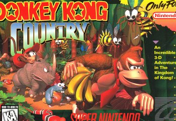 Donkey Kong Country Boxart /Cover (SNES)