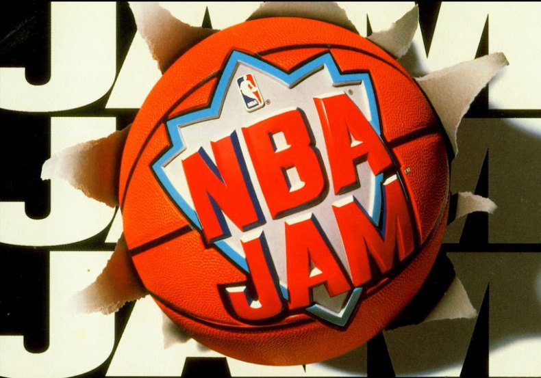 NBA Jam Original Box Art - Logo Only