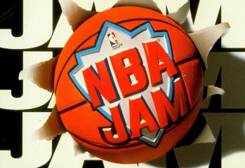 NBA Jam Original Box Art - Logo Only