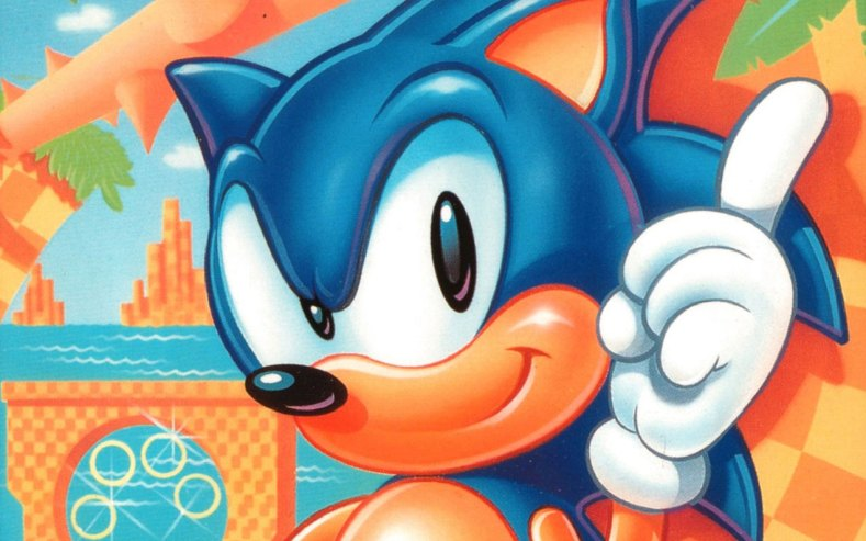 Sonic The Hedgehog - Face Cropped