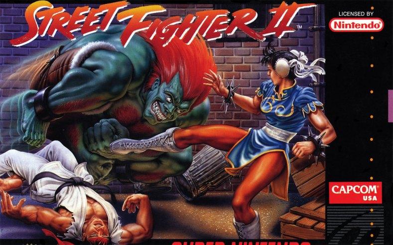Street Fighter II (SNES Boxart Cropped)