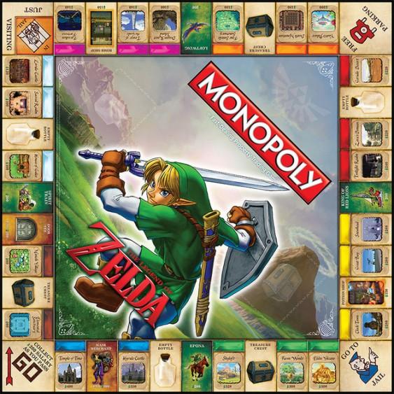 zelda-monopoly-board