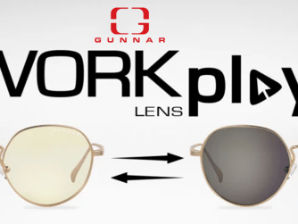 GUNNAR Optiks Work-Play 'Infinite' Transitional Lens, designed by PUBLISH