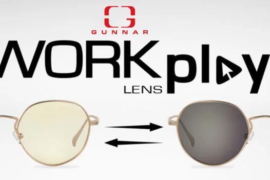 GUNNAR Optiks Work-Play 'Infinite' Transitional Lens, designed by PUBLISH