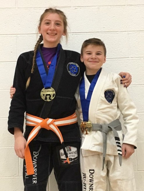 Downriver Jiu Jitsu Kid Champs