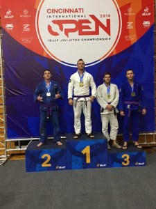 Kyle Harold takes silver home for DRBJJ