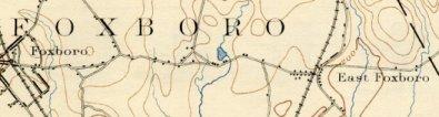 Detail, Foxboro Map