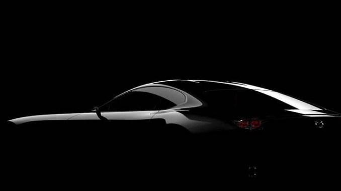 Mazda Sneak Peek Ahead of Tokyo Motorshow of new sports car concept