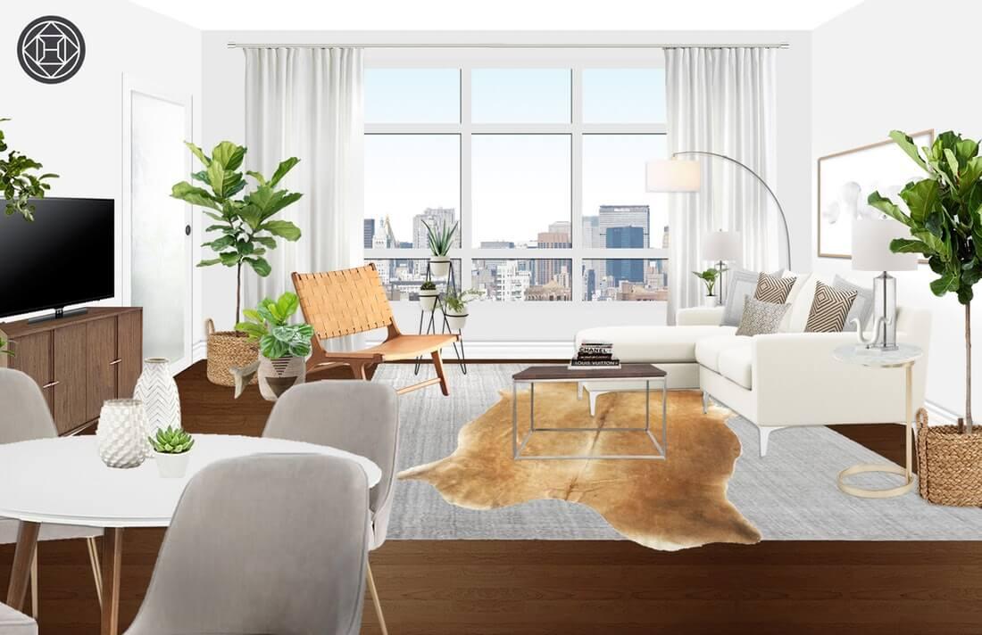 Designing my Modern and Minimalist Living Room with ... on Minimalist Living Room Design  id=72506
