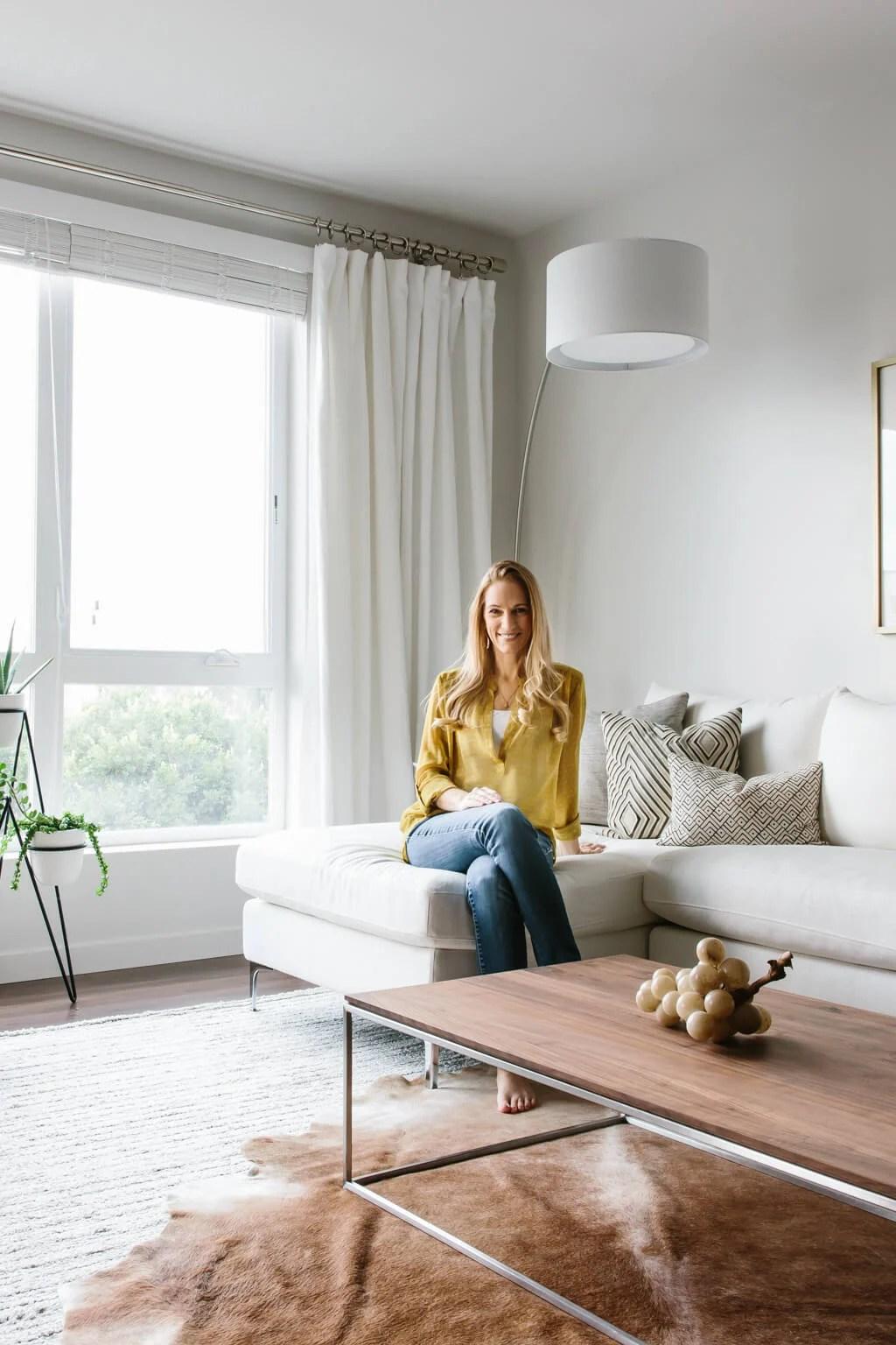 Designing my Modern and Minimalist Living Room with ... on Minimalist Living Room Design  id=70397
