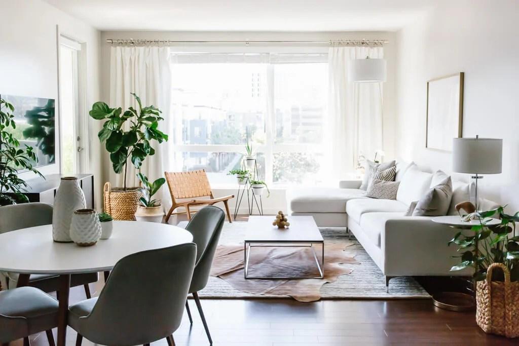 Designing my Modern and Minimalist Living Room with ... on Minimalist Living Room Design  id=41690