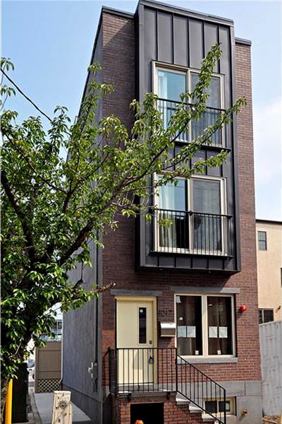 Philadelphia Narrow Escapes SS Skinny Homes around the World