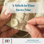 resume A Stitch in Time Saves Nine