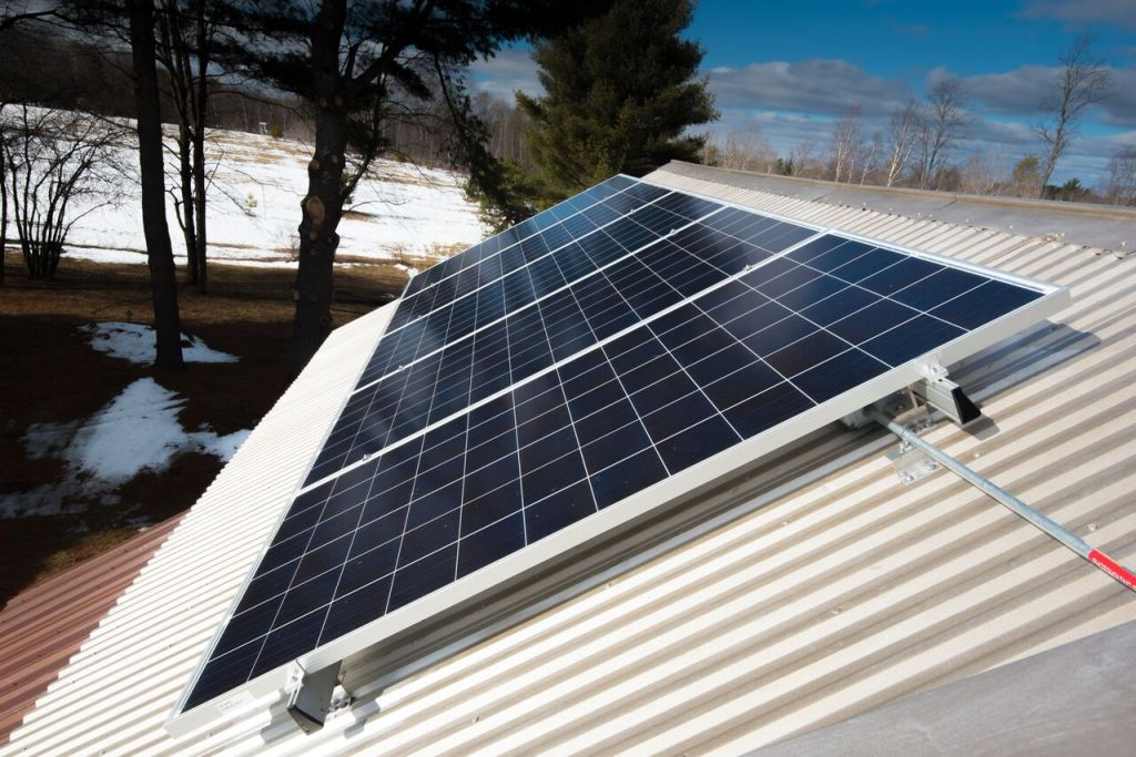 solar power in central New York