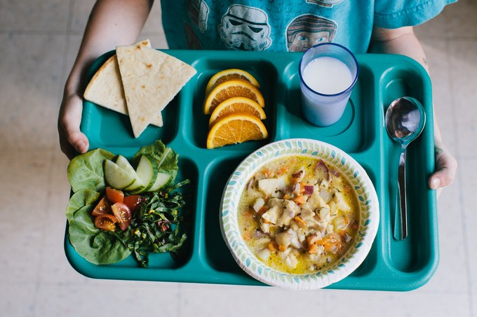 A Letter To My Children: I Will Give You More Than A Cafeteria Lunch