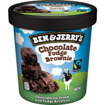 Ben & Jerry's Chocolate Fudge Ice Cream