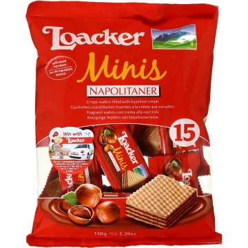 Loacker Wafers Hazelnut