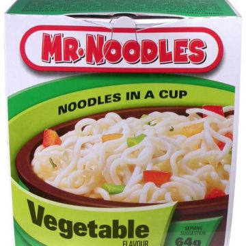 Mr noodle in Cup Vegetable