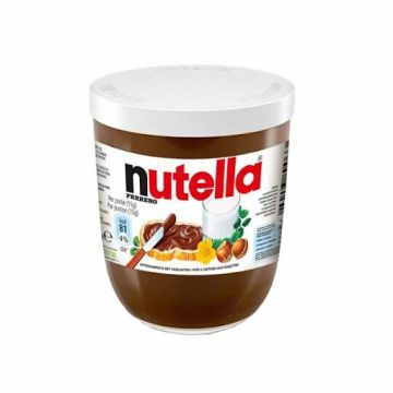 Nutella Glass Jar