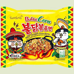 Samyang Hot Chicken Flavor Ramen Buldak Corn