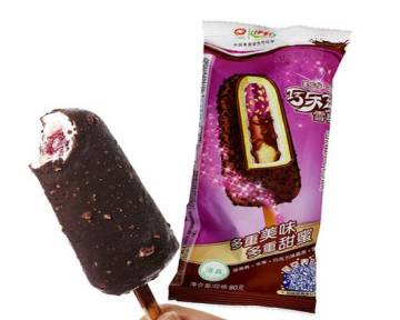 Yili Qiaolezi Classic Chocolate Blueberry Ice Cream