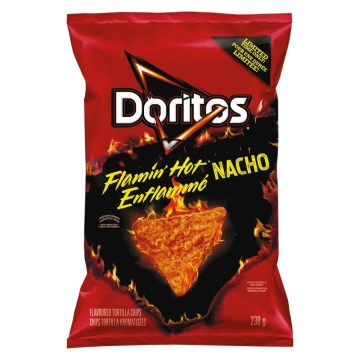 Dorito Flamin Hot Nacho Chips