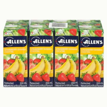 Strawberry Banana Allen's Juice