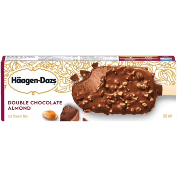 Haagen Dazs Double Chocolate Almond Icecream Bar