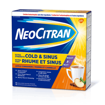 NeoCitran Apple Cinnamon