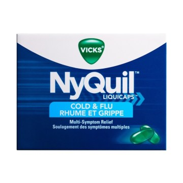 Nyquil Cold & Flu Liquid Capsule