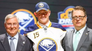 Jack Eichel is ready for a big debut season as the 2nd overall pick in this year's draft behind Junior superstar, Connor McDavid. (Getty Images)