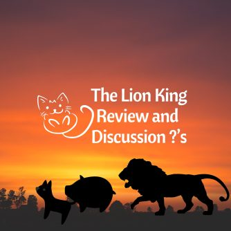 Lion King Discussion Questions And Review Down The Hobbit