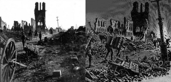Charley's War: Cloth Hall, Ypres