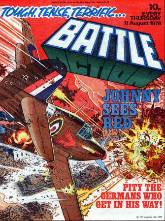 Battle - 11th August 1979 Cover Date