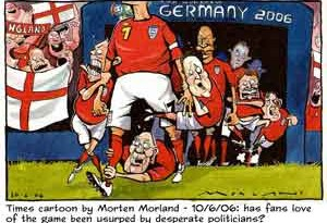 Morten Morland - World Cup Cartoon