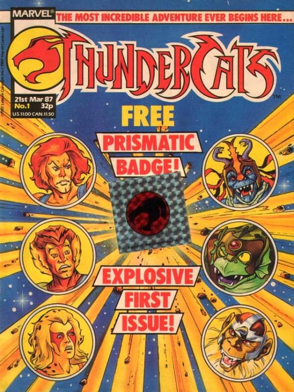 Thundercats Issue 1 - Marvel UK