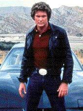 David Hasselhoff in the original Knight Rider. Image © NBC