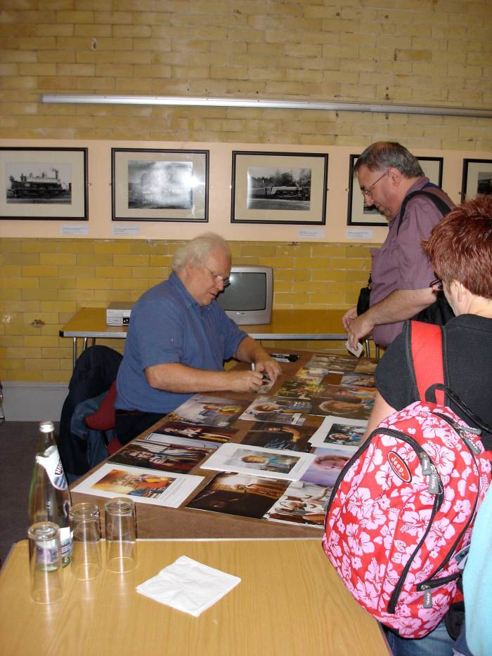 Colin Baker - Carnforth Railway Station 24th August 2008