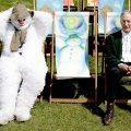 Raymond Briggs and Snowman